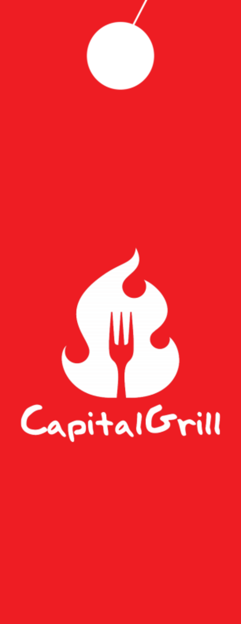 Capital Grill Grand Opening Door Hanger Template Preview 3