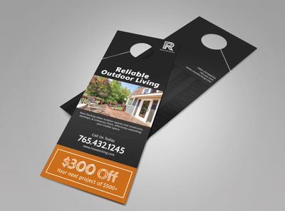 Ross Decking & Outdoor Living Doorhanger Template