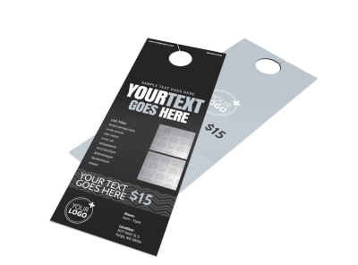 Generic Door Hanger Template 16175 preview