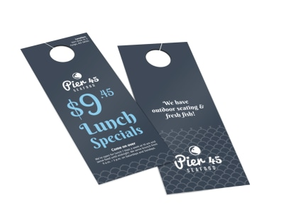 Pier 45 Lunch Specials Door Hanger Template 2 preview
