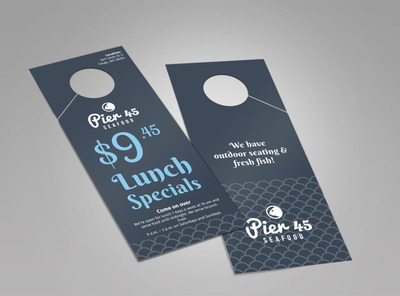 Pier 45 Lunch Specials Doorhanger Template 2