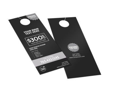 Generic Door Hanger Template 16186