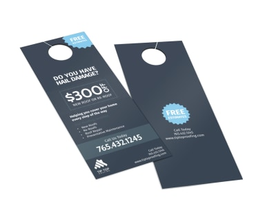 Tip Top Roofing Door Hanger Template 2 preview