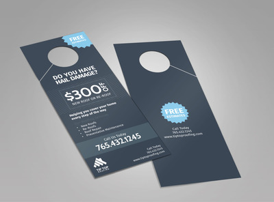Tip Top Roofing Doorhanger Template 2