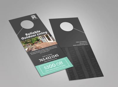 Ross Decking & Outdoor Living Doorhanger Template 2