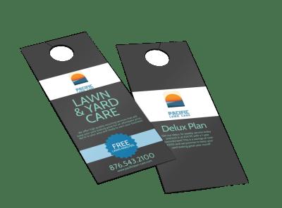 Custom Door Hangers   250+ Templates Template Preview