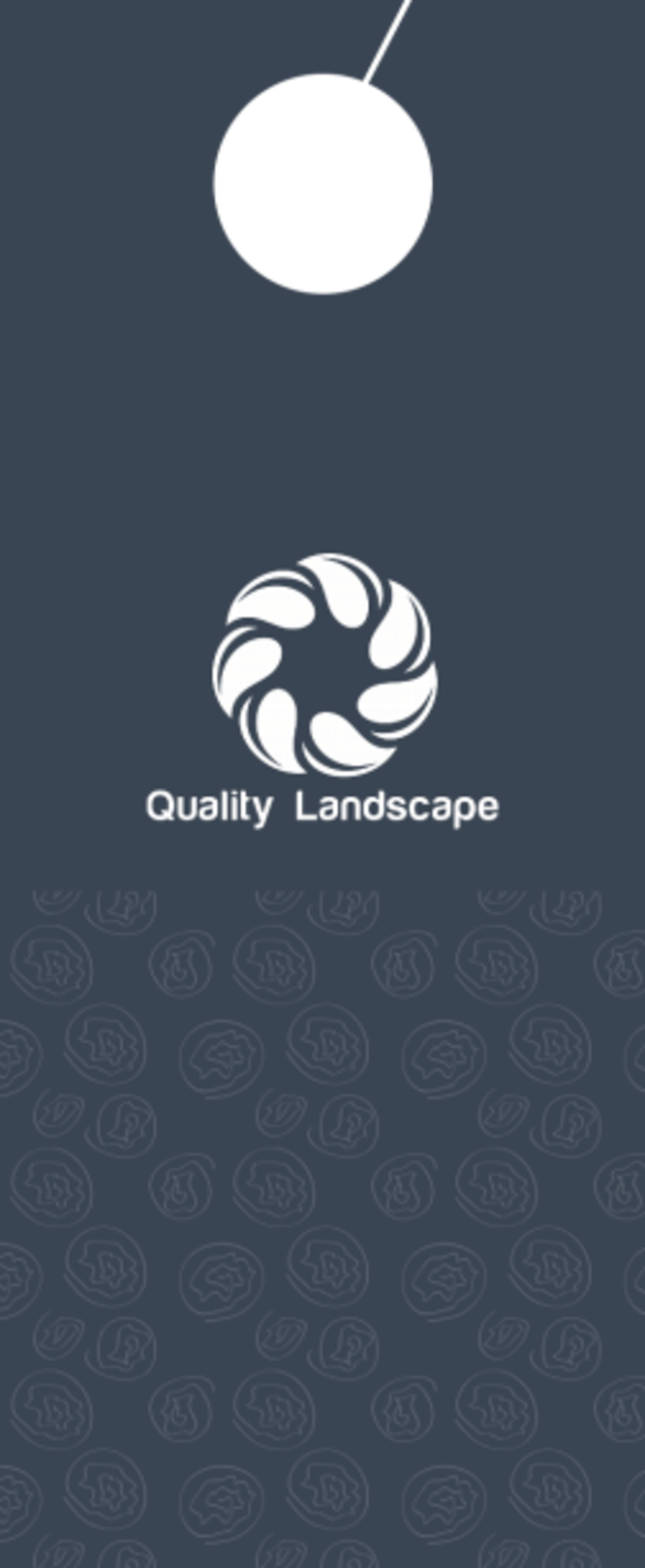 Quality Landscaping Service Door Hanger Template Preview 3