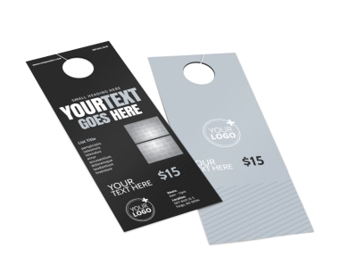 Generic Door Hanger Template 16193