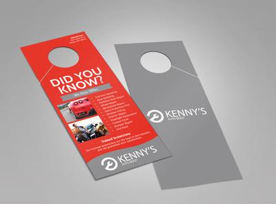 Kenny's Auto Body Doorhanger Template 2
