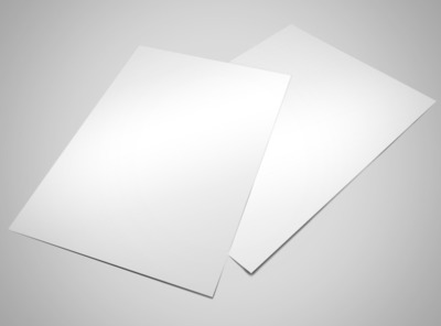 Blank Canvas Flyer Template