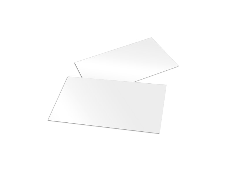 Blank Business Card Templates | MyCreativeShop
