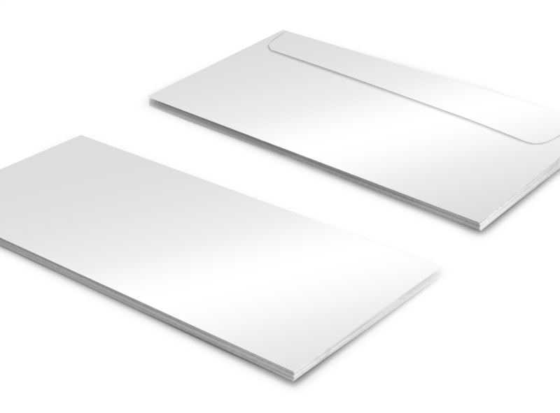 blank envelope templates