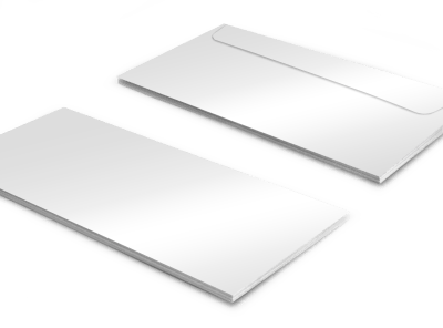 Blank Canvas Envelope Template preview