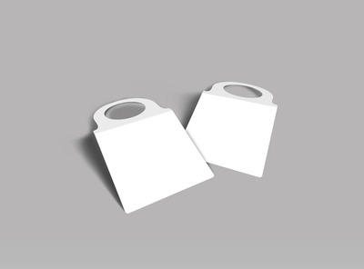 Blank Canvas Bottle Tag Template