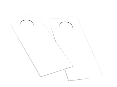 Blank Canvas Doorhanger Template 2 preview