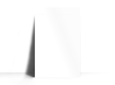 Blank Canvas Poster Template preview