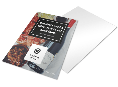 Food & Beverage Flyers Template Preview