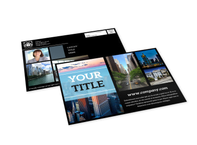 Urban Real Estate EDDM Postcard Template preview