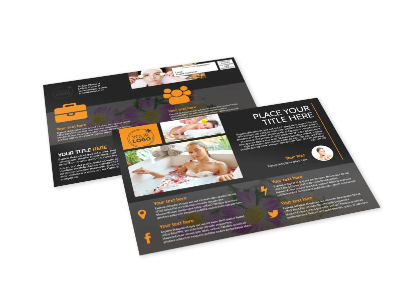 Creative Beauty Spa EDDM Postcard Template Preview 4
