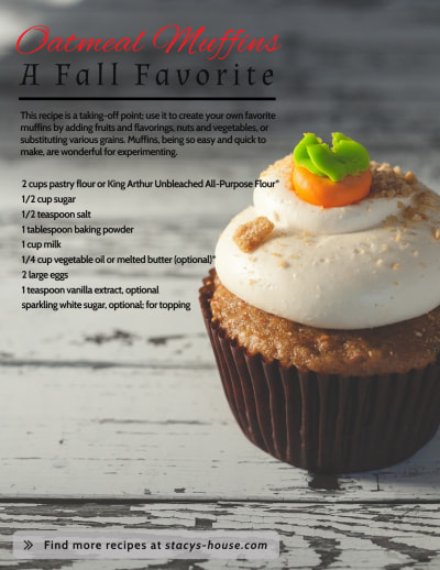 Food Recipe Inspirational Designs Flyer Template Preview 1
