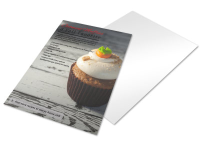 Food Recipe Inspirational Designs Flyer Template preview