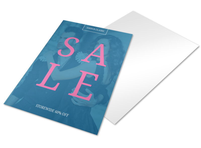 Storewide Sale Business Promotional Flyer Template