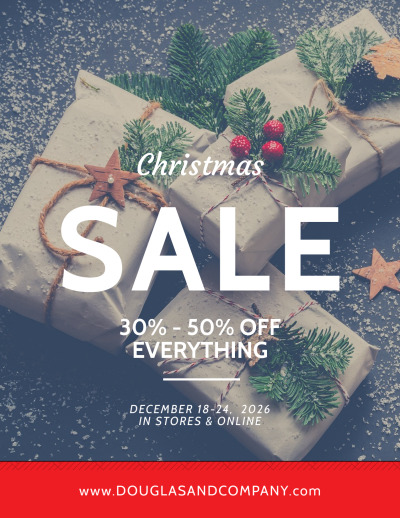 Christmas Sale Holiday Marketing Flyer Template Preview 1