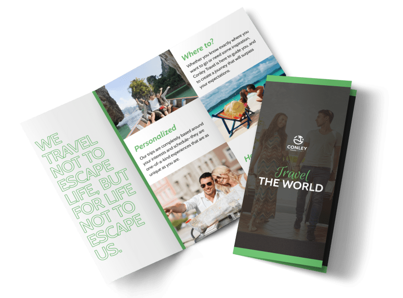 Travel Brochure Template Preview 1