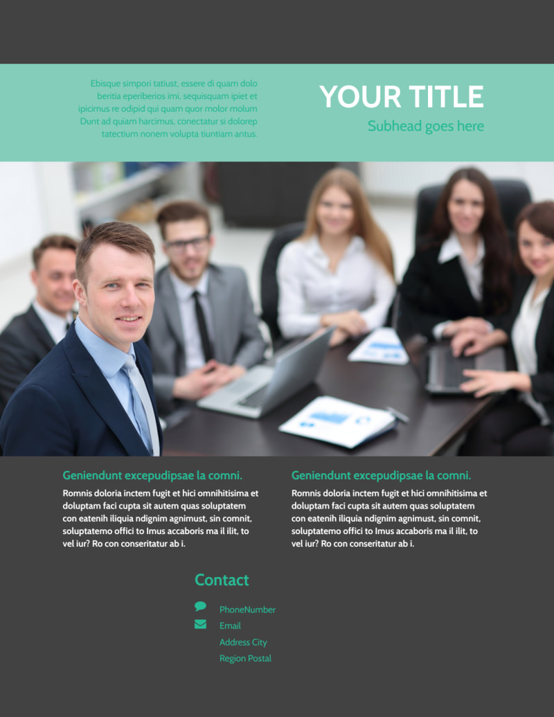 SEO Services Flyer Template Preview 3