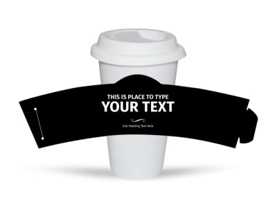 Generic Cup Sleeve Template 16344 preview