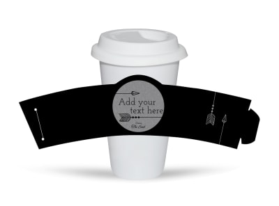 Generic Cup Sleeve Template 16356 preview