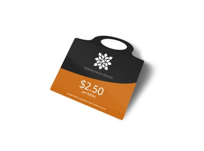 Springfield Hotel Bottle Tag Template 2