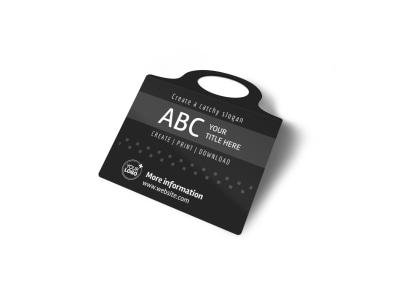 Generic Bottle Tag Template 16418 preview