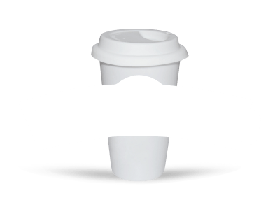 Blank Canvas Cup Sleeve Template preview