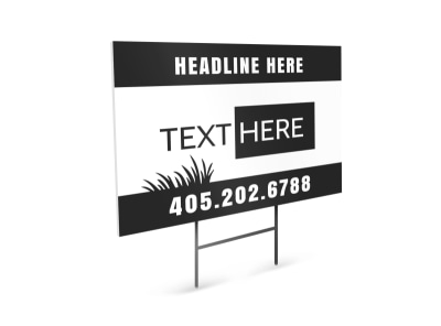 Generic Yard Sign Template 16449 preview