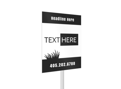 Generic Yard Sign Template 16450 preview