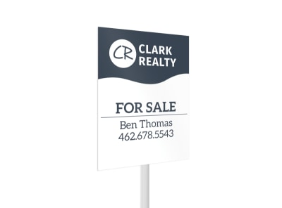Clark Realty For Sale Yard Sign Template 2 preview