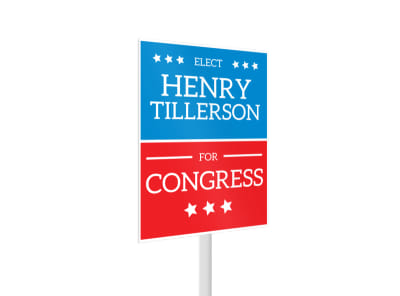 Henry Election Yard Sign Template 2 preview