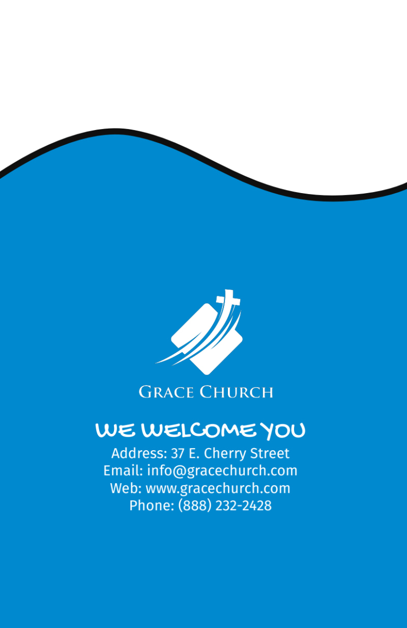 Church Youth Group Camp Flyer Template Preview 3