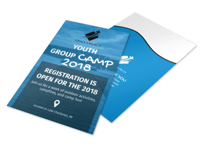 Church Camp Flyer Templates Template Preview