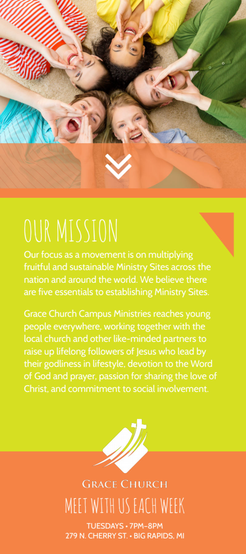 Campus Life Ministries Church Flyer Template Preview 3