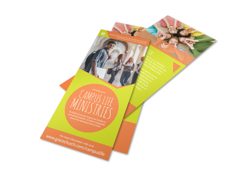 Campus Life Ministries Church Flyer Template Preview 1