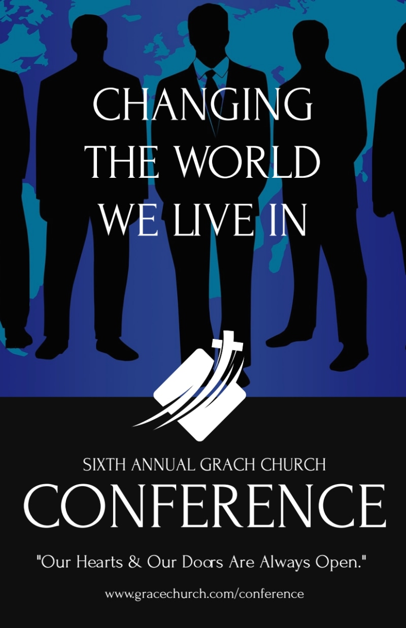 Annual Change The World Church Conference Flyer Template Preview 2