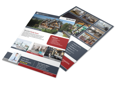 New Hampshire Real Estate Featured Property Flyer Template