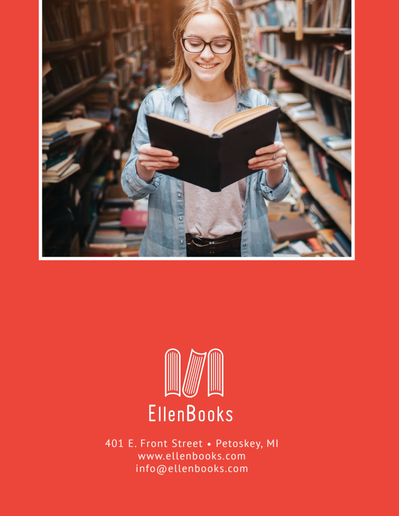 Ellen Book Club Outreach Flyer Template Preview 3