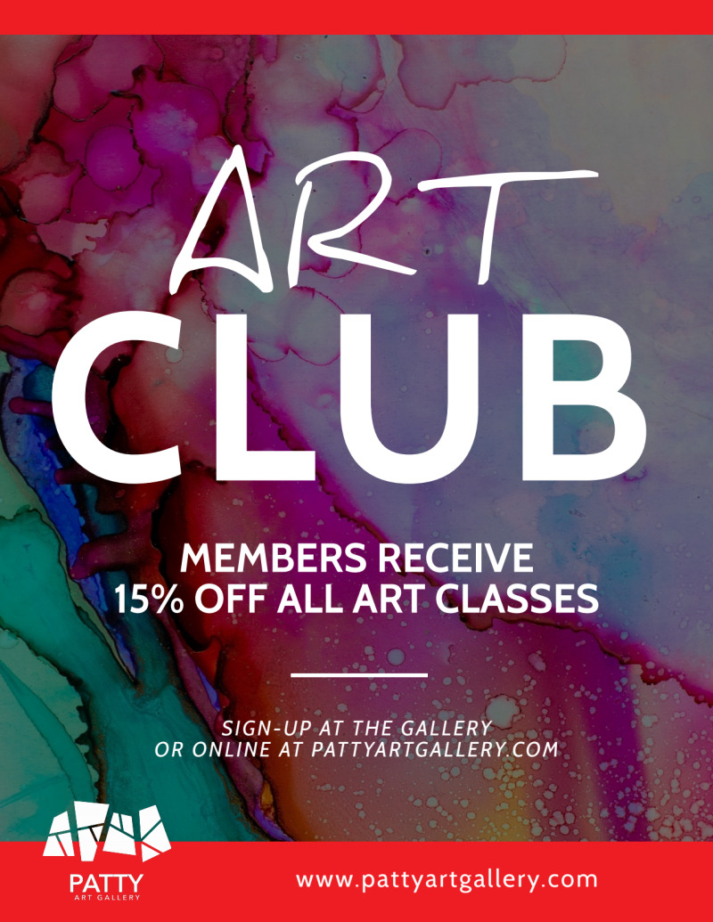 Patty Art Club Flyer Template Preview 2