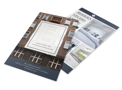 Condo Real Estate Open House Flyer Template preview
