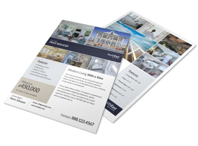 Modern Real Estate Price Reduced Flyer Template preview