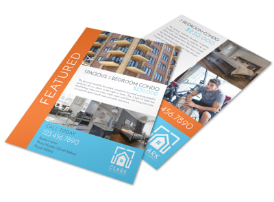 Condo Featured Property Flyer Template preview