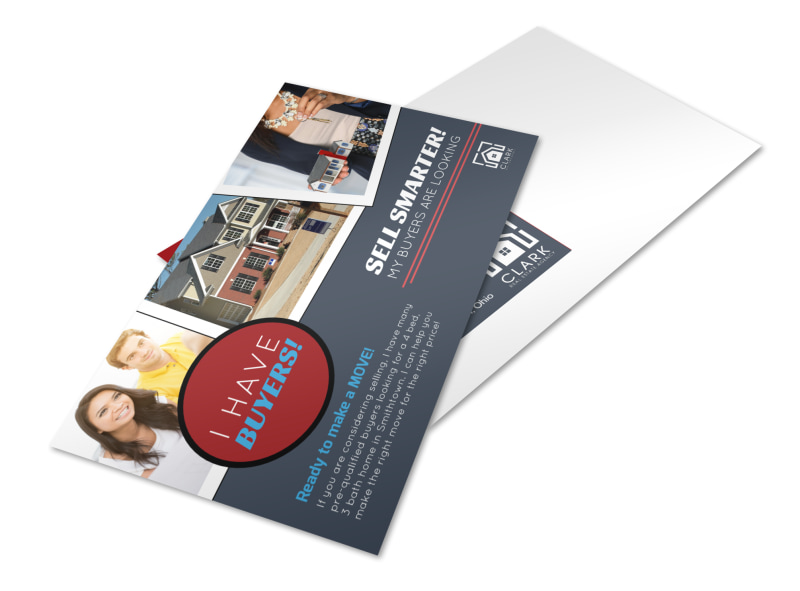 Sell Smarter Real Estate Postcard Template Preview 4